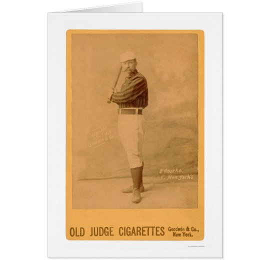 Jim O'Rourke Baseball Card 1889