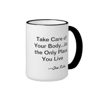 Jim Rohn Health Mug