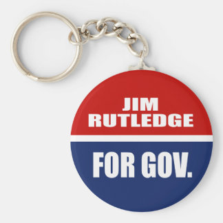 JIM RUTLEDGE FOR SENATE KEY CHAIN