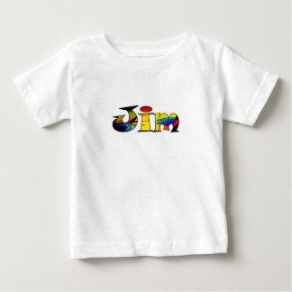Jim solid white short sleeve t-shirt
