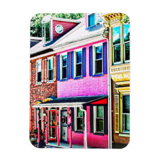 Jim Thorpe Pa - Colorful Street Magnet
