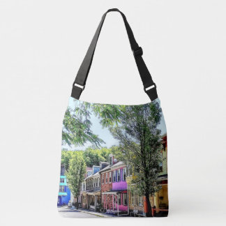 Jim Thorpe PA - Quaint Street Crossbody Bag