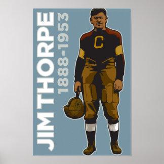 Jim Thorpe, poster Todo-Americano