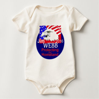 Jim WEBB 2016 Baby Bodysuit