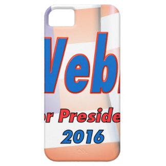 Jim Webb for President in 2016 iPhone SE/5/5s Case