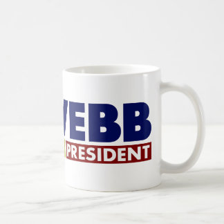 Jim Webb for President V1 Coffee Mug