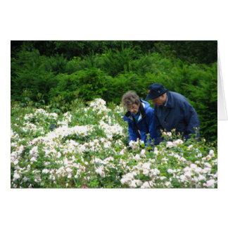 Jim y Betsy, jardín de Savill Tarjeta De Felicitación