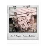 Jim y Wayne Tarjeta Postal
