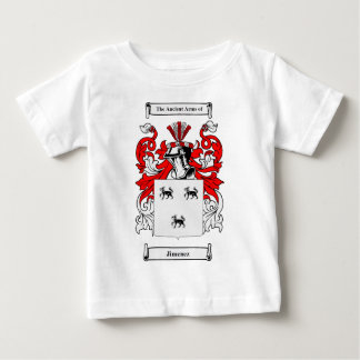 Jimenez Coat of Arms Baby T-Shirt