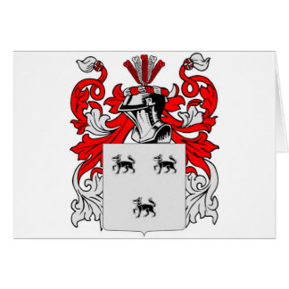 Jimenez Coat of Arms Card
