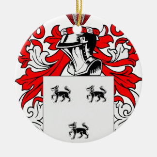 Jimenez Coat of Arms Ceramic Ornament