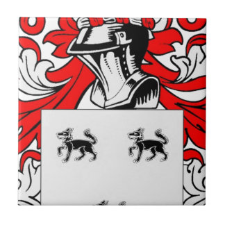 Jimenez Coat of Arms Ceramic Tile