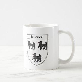 Jimenez Coat of Arms/Family Crest Coffee Mug