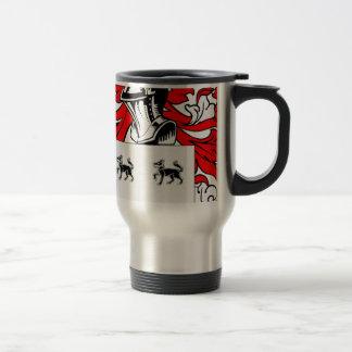 Jimenez Coat of Arms 15 Oz Stainless Steel Travel Mug