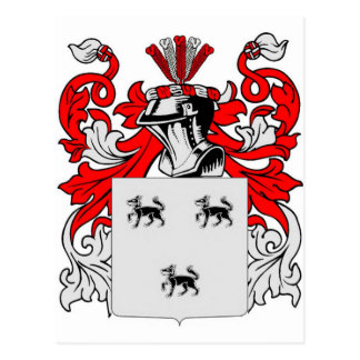 Jimenez Coat of Arms Postcard
