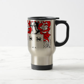 Jimenez Coat of Arms Travel Mug