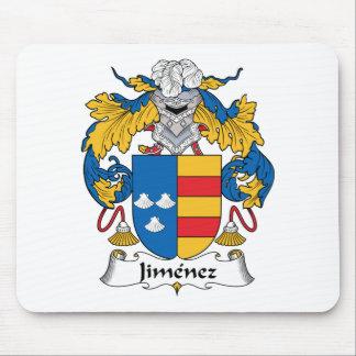 Jimenez Family Crest Mouse Pad