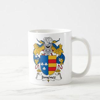 Jimenez Family Crest Classic White Coffee Mug