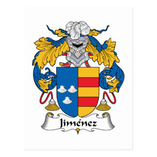 Jimenez Family Crest Postcard