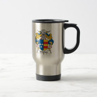 Jimenez Family Crest Travel Mug
