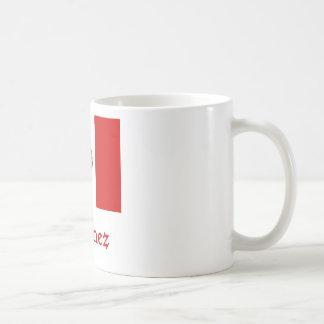Jimenez Mexican Flag Classic White Coffee Mug