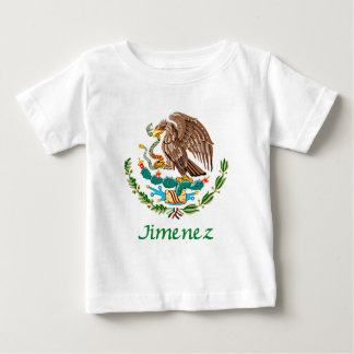 Jimenez Mexican National Seal Baby T-Shirt