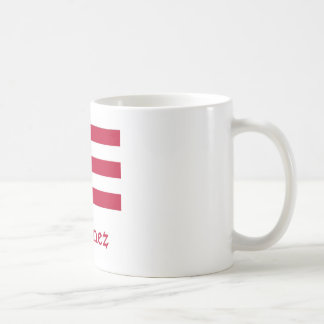 Jimenez Puerto Rican Flag Coffee Mug