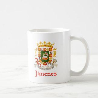 Jimenez Shield of Puerto Rico Coffee Mug