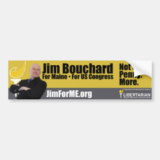 JimForME Bumper Sticker