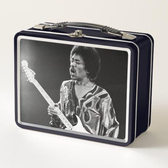 Jimi Hendrix | Isle Of Wight Festival, 1971 Metal Lunch Box