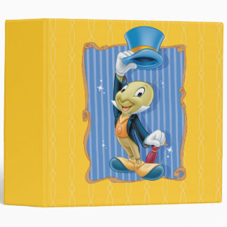 Jiminy Cricket Lifting His Hat Binder