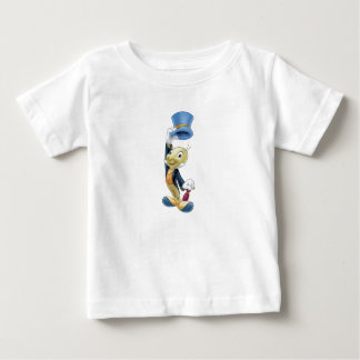 Jiminy Cricket Lifting His Hat Disney Baby T-Shirt
