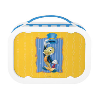 Jiminy Cricket Lifting His Hat Lunch Box