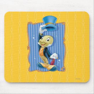 Jiminy Cricket Lifting His Hat Mousepad
