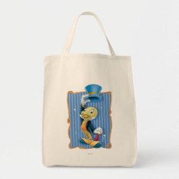 Jiminy Cricket Lifting His Hat Tote Bag