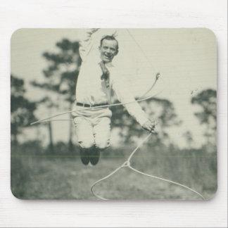 Jimmie Richardson jumping spoke. Mouse Pad