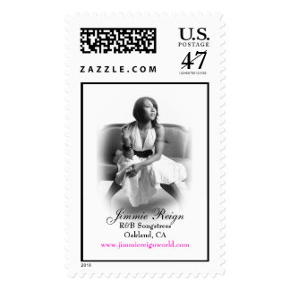 jimmiereign235 (2), R&B SongstressOakland, CA, ... Postage Stamp
