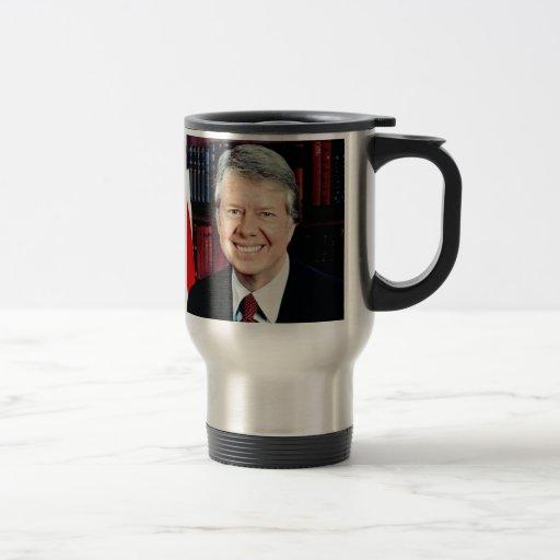 Jimmy Carter 15 Oz Stainless Steel Travel Mug