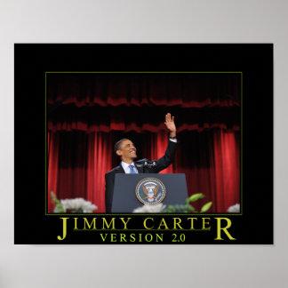 Jimmy Carter 2.0 Poster Print