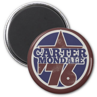 Jimmy Carter 2 Inch Round Magnet