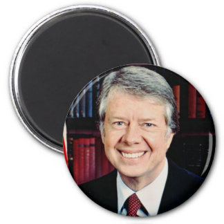 Jimmy Carter 39 2 Inch Round Magnet
