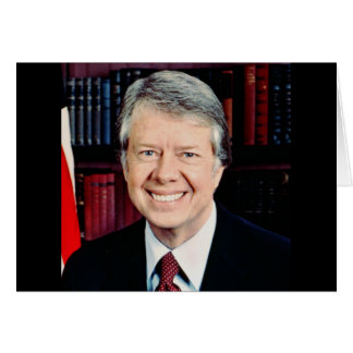 Jimmy Carter 39 Greeting Card