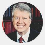 Jimmy Carter 39 Classic Round Sticker