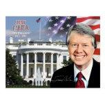 Jimmy Carter - 39.o presidente de los E.E.U.U. Tarjeta Postal
