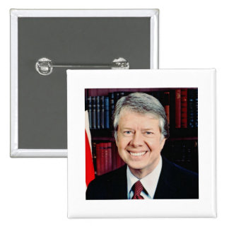 Jimmy Carter 39 Pin Cuadrada 5 Cm