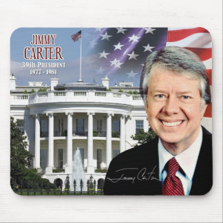 Jimmy Carter -  39th President of the U.S. Mouse Pads