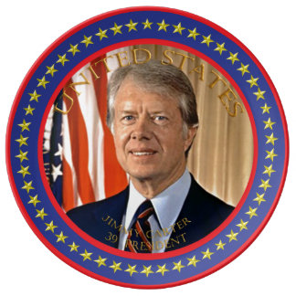 jimmy carter 39th president plate