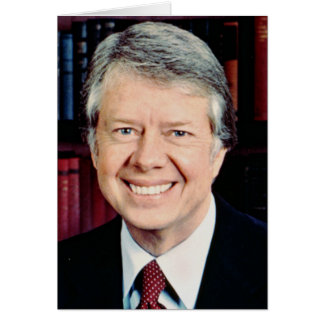 Jimmy Carter 39th US President Greeting Card