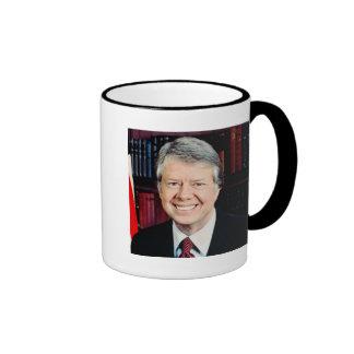 Jimmy Carter 39th US President Ringer Coffee Mug