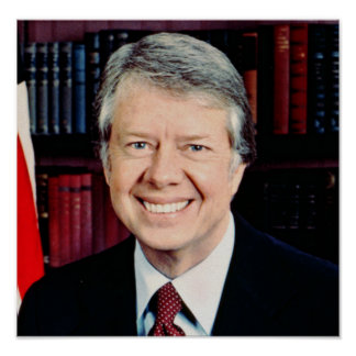 Jimmy Carter 39th US President Poster